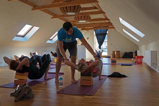 Yoga - de loft oostende - vrije instap